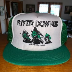Vintage River Downs Trucker Hat